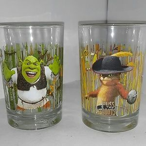 Other - Shrek and Puss n boots Forever After Glasses